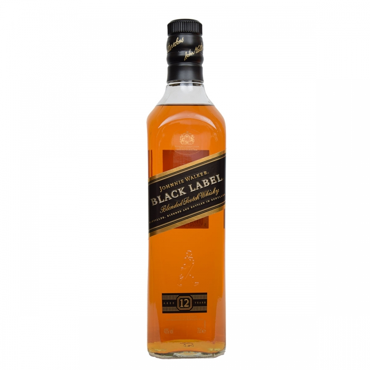 Johnnie Walker black label 12 y.o. 700ml