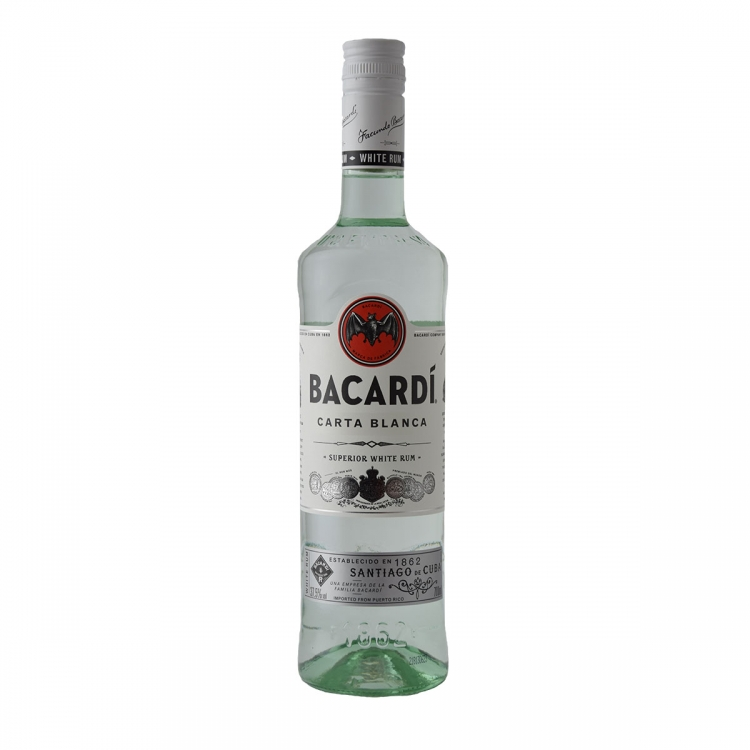 Bacardi Carta Bianca Rum 700ml
